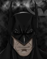 Batman grimace by Wessel