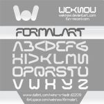 formal art font by weknow by weknow