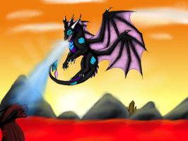 CE-Fight at dawn by Angel1357