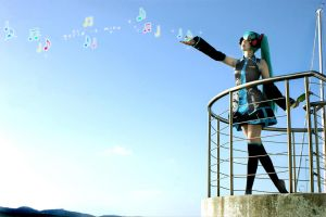 Miku Hatsune: World is Mine by haraju2girls