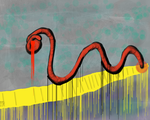 Snake In A Cave by TrebleClefWhoove