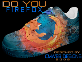NEW: Firefox Shoe Design by CMWebStudios