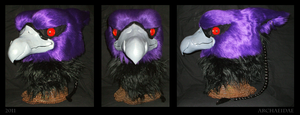Lord Kass Fursuit Head by Archaeidae