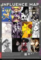 my influence map by mond-kind