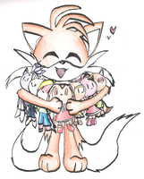 Tails Gets All the Girls by Flherg