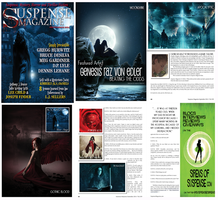 Featured in Suspense Magazine by GeneRazART