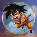 Goku colors by aladecuervo