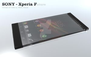 Sony - Xperia F  -  concept art by MartinGcz