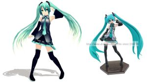 [MMD] Figure Pose Series 1 [DL] by Snorlaxin