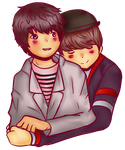 Yesung and Ryeowook by sweet-mayu