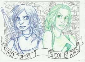 Raid Tombs - Shoot Bitches by goffietwerb