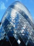 The Gherkin, London by Squishedjellyfish