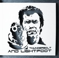 Thunderbolt and lightfoot - Clint Eastwood by Piciuu