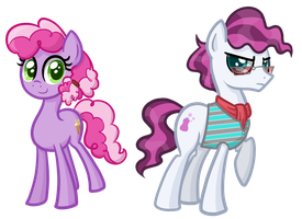 Some Background Ponies by TheCheeseburger