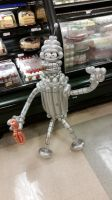 Bender Futurama Balloon by DJdrummer