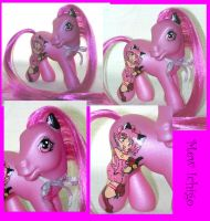 Custom Pony Mew Ichigo by PrincessAmalthea