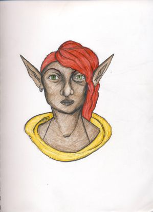 Elf Character Version 3 (coloured)