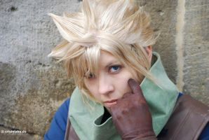Cloud Strife (Final Fantasy) by crisinlake