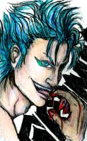 Grimmjow- Wanna Taste? by ebjeebies