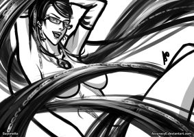 Bayonetta by borjen-art
