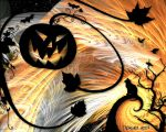 Attack of the Great Pumpkin by thamuria