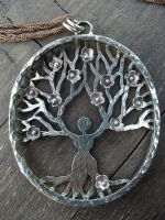 Mother Tree Necklace by MoonLitCreations