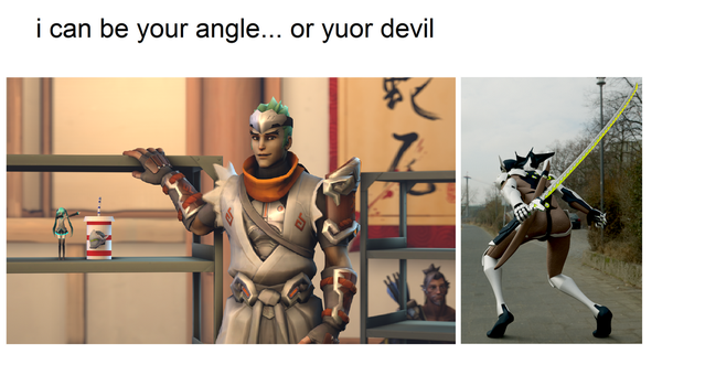 i can be your angle... or yuor devil by Mistberg