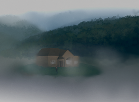 Land Of Mist And Lakes by harrie5