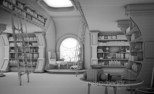 library by MarcZieger