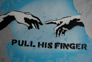 Pull His Finger by GateGraffiti
