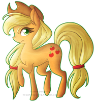 Applejack by Puffedwarrior