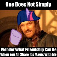 One Does Get Bored Photoshopping :D by PinkiePizzles