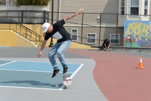 The Skateboarder Action Shot 12 by Miss-Tbones
