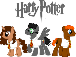 Harry Potter Ponified by asdflove
