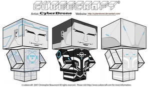 Cubeecraft - Tron by CyberDrone