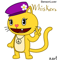 Whiskers the cat by HandyxRussell10