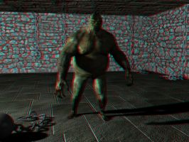 Troll anaglyph 1 by SolidAlexei