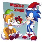 Merry Sonic Xmas by gen8