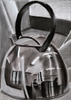 Charcoal Still Life 2. Drawing II by Jesus-Fishboy
