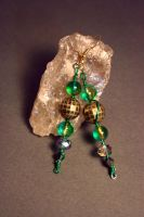 Loki Beaded Earrings by KouranKiyo