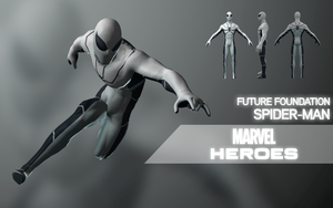 Marvel Heroes: Spider-Man (Future Foundation) by LEMOnz07