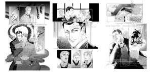 Sherlock doujin sample pages by Thundertori