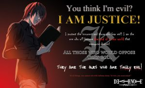 Light Yagami: The Truly Evil/To win by mickeyelric11