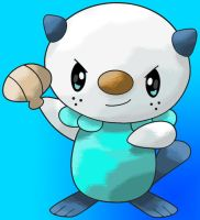Oshawott by SuperiorDragonFan