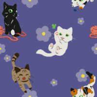 Kitties background by Kurotorasempai