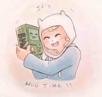 Hug Time ! by claire-pouette