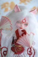 Amaterasu monsterhigh custom2 by FinleyUsagi