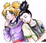 Naruto: Shikamaru and Temari by MooguriKlaine