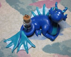 Message in a Bottle Sea Dragon by SmilingMoonCreations
