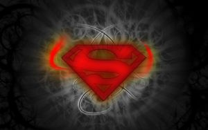 bokeh superman wallpaper by femfoyou